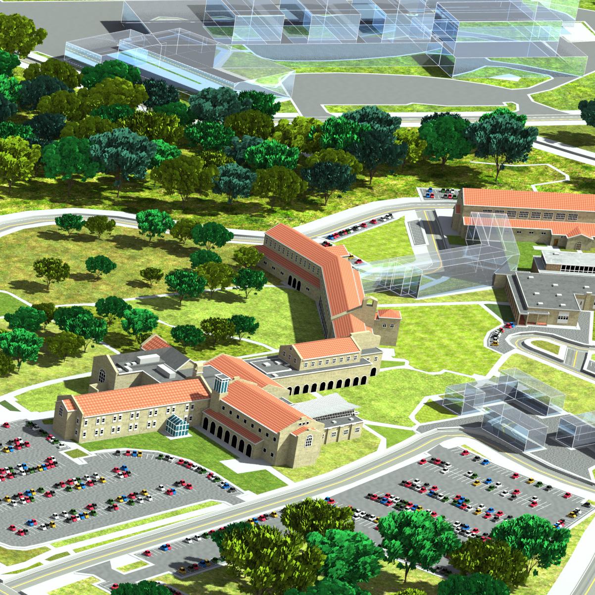 Lourdes University Campus Map.Lourdes University